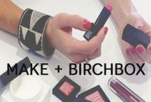 MAKE + Birchbox / Newcomer beauty brand MAKE is truly a triple threat: from their artfully-designed packaging, to the pigmented pops of color in their products, to their socially-conscious mission—this New York-based line has a permanent place on our vanity. / by Birchbox