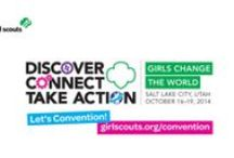 2014 National Convention / The 53rd Girl Scout National Convention reunites Girl Scout alumnae and invigorates a global movement of girls, women, and men.  Date: Oct 16-19, 2014 Location: Salt Palace Convention Center, Salt Lake City Theme: Discover, Connect, Take Action: Girls Change The World Everyone is invited! Spend UEA weekend learning everything you wanted to know about Girl Scouts! / by Girl Scouts of Utah