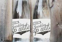 Lable Package Bottle Design