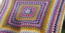 Granny Squares Rock / A celebration of crochet granny squares and motifs, free patterns, inspiration photos and books