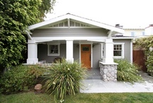 Craftsman Cottages / Interior and exterior design and decor in craftsman cottages and bungalows