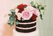 Cakes / Wedding cakes, simple and yet so inspiring  / by Visions Event Studio