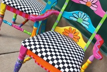 Painting~Restoring~Furniture / by Peggy Swearingen