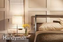 The Bedroom / Your bedroom should be your sanctuary from the stress of everyday life. Design and create the ultimate bedroom oasis with these DIY building plans, decor ideas, organizing tricks, and other projects - which can also work on kids' rooms and guest rooms! / by The Family Handyman