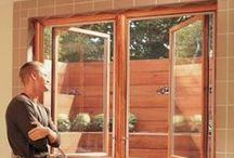 Doors & Windows / Doors and windows are both decorative and functional elements in your home, requiring the DIY skills of a seasoned handyman and the eye of an inspired designer to get right. Follow these project instructions and handy tips for installing, removing, repairing, and upgrading your doors and windows.
