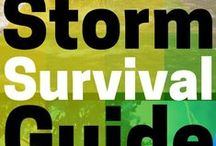 Emergency and Storm Prep / Severe weather preparedness is about more than just building storm shelters. Here are some DIY tips for preparing for hurricanes, tornadoes, and other storms. Keep your family and your home safe!