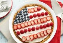 4th of July! / Celebrate the red, white and blue with some patriotic dessert ideas!!  / by Gold Medal Flour