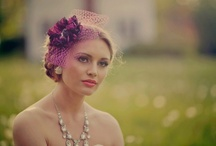 Blooming in color / Color bridal hair accessories