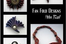 HB Designs / Polymer Clay Creations and Inspirations Featuring work done by artists using Helen Breil's textures, silk screens and designs.