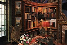 """Books: Book spaces / I love  books. """"A house without books is like a body without a soul."""" Here are some cool places, big and small. / by Andrea Jackson"""