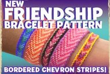 Friendship Bracelet Tutorials / A board dedicated to teaching knotting techniques to make colorful bracelets for kids using friendship thread and hemp cording! / by Craft Project Ideas