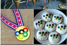 Olympics / Kid friendly craft projects to celebrate the colorful Olympic celebrations!
