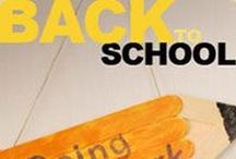 Back to School Crafts / Products, crafts, activities and snacks to celebrate the Back to school season each fall