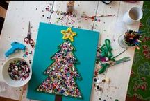 HOLIDAY: Christmas / Crafts, snacks and all things kids for Christmas: Ornaments, Santa, Reindeer, Wreaths, Gift Giving, creative food and much more!