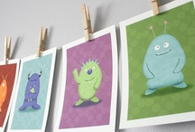 Monsters! / A collection of monstrous ideas for Little Charley's nursery, decor and shower...