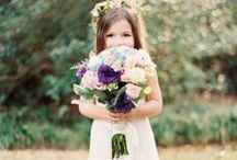 Flower Girls and Ring Bearers  / by Visions Event Studio