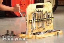 Using Tools / There's a lot to know about DIY tools - painting tools, power tools, woodworking tools and table saws - and even storing tools! Learn all about the different uses for your favorite tools, and new ones to consider adding to your collection. / by The Family Handyman