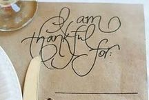 Everything Thanksgiving / Your resource for Thanksgiving themed decor, crafts, recipes and more!