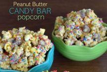 Popcorn-Yummy!  / by Jennifer Armstrong