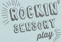 Rockin' Sensory Play / The coolest sensory activities on the web brought to you by the Rockin' Art Moms! / by Allison @ Learn Play Imagine