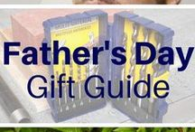Handyman Father's Day / DIY projects to make for dad, woodworking plans for fathers to build with their kids, tool reviews, and gift ideas for Father's Day.