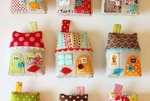 Gifts to Sew / Small sewing. Softies, pin cushions, quick and easy sewing.