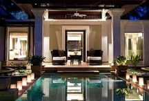 .party on the patio. / patios, porches, pools and gorgeous backyard spaces