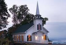 country churches / by Janice Johns