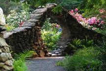 through the garden gate .... / by Agnes Strauss