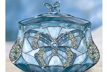 blue glass  / by Janice Johns