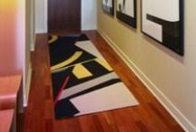 Custom Carpet Runners / Rug Rats can custom make a wide variety of fine carpet runners and custom rug runners.      A  custom rug runner will define and give life to space