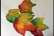 Watercolor - Leaves / by Ayleeann