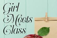 "Girl Meets Class / The hilarious Karin Gillespie returns with her ""flair for timing and a cheeky Southern turn of phrase"" (Booklist).  ""Funny, empathetic, and wise. Gillespie shines a light into dark corners we need to examine, but somehow manages to entertain us at the same time. A fantastic read."" – Susan M. Boyer, USA Today Bestselling Author of The Liz Talbot Mystery Series / by Henery Press"