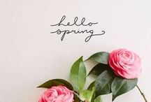 SPRING TIME - YES, WE LOVE IT!