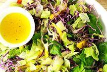 Saladas e saladinhas / Saladas frescas, refrescantes e deliciosas, porque salada não precisa ser sem graça