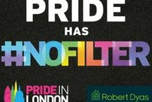 Pride has #nofilter / At Robert Dyas our motto is 'Freedom to Do it yourself'. For us that has as much to do with our diverse range of products as our vast customer base. We believe that everyone should have the freedom to do anything and express themselves, so when the opportunity came along to support Pride in London, we felt as though we were very much on the same page.