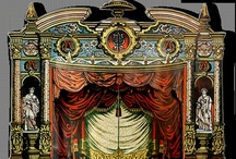 TOY THEATRE / Taking drawing lessions want to design and draw my own Toy Theatre sets. / by Patty Preston
