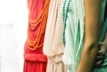 Color Ensemble / Colorful women's outfits