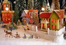 Mini Houses, Glitter and All / by Teresa Garringer