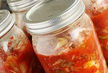 Mason Jars / Things to do with mason jars