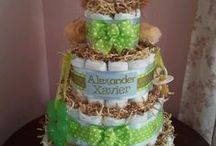 Diaper Cakes / by Clarita Langsner Solomon