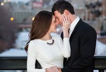 Engagement Photo Ideas for Brides / Engagement poses, locations, styles and outfit options for newly engaged couples.  Fiance outfit help.  Engagement sessions and pictures that will stun you.  Amazing, beautiful, gorgeous and fun.