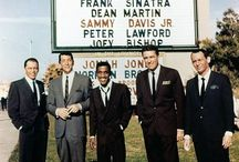 Dean Martin and the Rat Pack / Dean Martin,  Frank Sinatra, Sammy Davis Jr, Joey Bishop, Peter Lawford (and a little Jerry Lewis).  / by Stacey Bradley