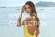 Spring 2015 Collection / Inspired by the seaside nomad, wandering the globe in search of the perfect water. She's happiest when she is drenched from head to toe, glistening with salt, and sand, and soaking up the sun. For those who are in search of adventure in the uncharted and unexplored, grab your bikini and GO! The water is waiting... / by L*SPACE Swimwear