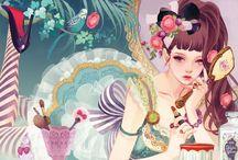 Hiromi matsuo art / by Star Twinkle