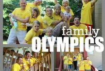 Family Olympics Games / Let the games begin...  take a look and discover fun outdoor games geared toward families or groups! GameOnFamily.com shares our board of fun family games to play.  Check out our favorite game ideas and find pins with links to instructions that teach you how to play fun games!