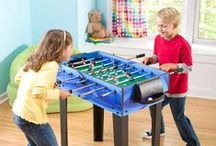 Game Room Games / Check out our ideas for fun game rooms that include BIG toys like games that belong in game rooms.  Game on!