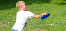 Frisbee Games / Frisbee fun for everyone!  GameOnFamily.com shares our board of fun frisbee games to play the next time time your kids say they're bored.  Check out our favorite game ideas and find pins with links to instructions that teach you how to play fun games!
