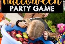Halloween Games / Pumpkin parties and ghost games galore!  Need some spooky fun games to play at your Halloween party? GameOnFamily.com has a list of ideas for you and pins with links/instructions that teach you how to play fun Halloween games.  BOO!