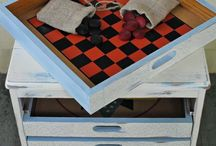 Game Storage / GameOnFamily.com presents our board of playful and fun game organization ideas for all of your games and puzzles.  Find interesting and cheerful ways to store games or perhaps even turn your furniture into game storage!  Game on!